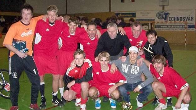 Tým Olpran seniors - vítěz Olpran Cupu 2009