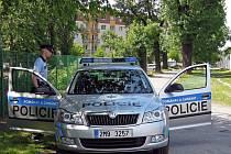 Policie ČR hlídkuje na sídlišti Černá cesta v Olomouci