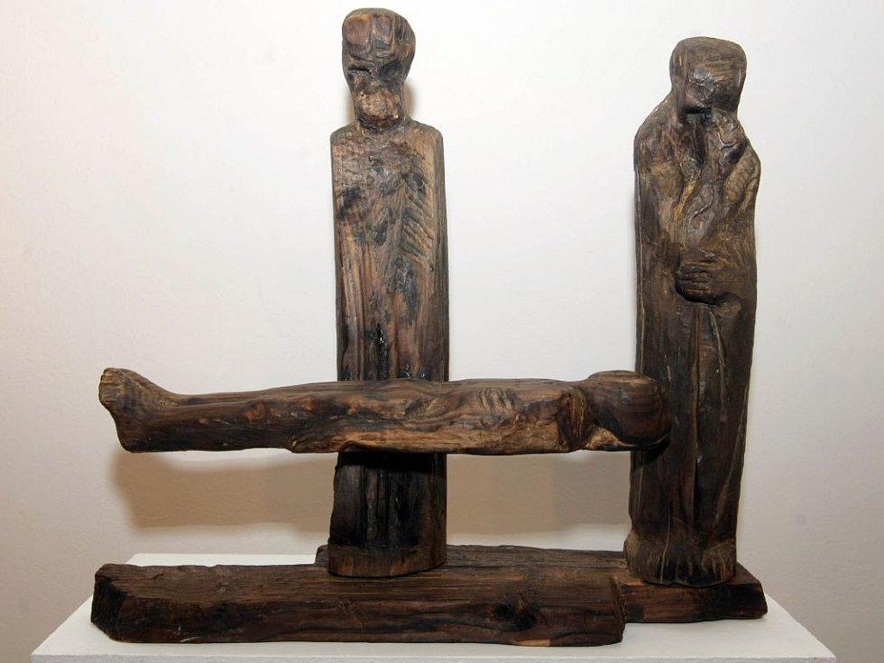 Expozice Olomoucká socha v Galerii G