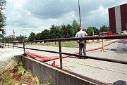 Olomouc, u Černé cesty, 14. července 1997