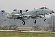 Americké stroje A-10 Thunderbolt II. Ilustrační foto.