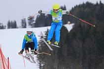Skicrossové závody na Dolní Moravě