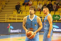 Basketbal, Kooperativa NBL, 2. kolo: BK Olomoucko - BC Kolín