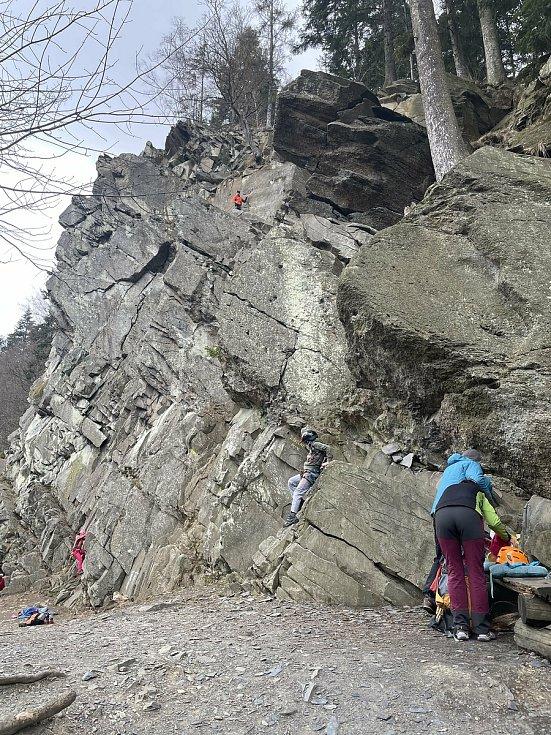 Naučná stezka Údolím Bystřice, 11. dubna 2021