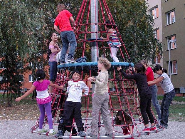 Dětské hřiště v Zikově ulici