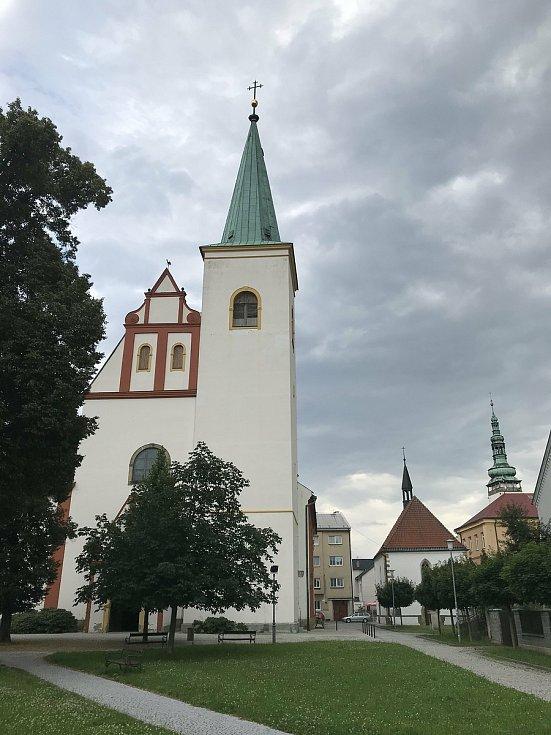 Hanácké Benátky mají svůj kostel svatého Marka, 23. července 2020.