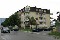 Bytový dům v Topolové ulici v městské části Slavonín