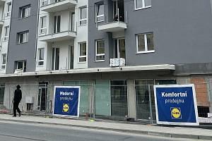 Nová olomoucká prodejna společnosti Lidl vznikne ve Wolkerově ulici, 16. září 2021