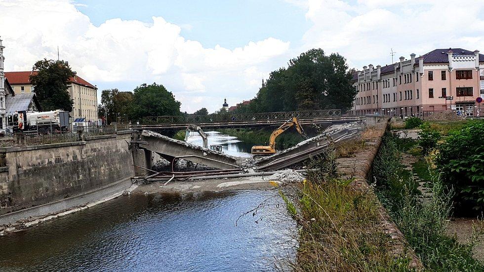 Demolice mostu u Bristolu - 26. 7. 2018