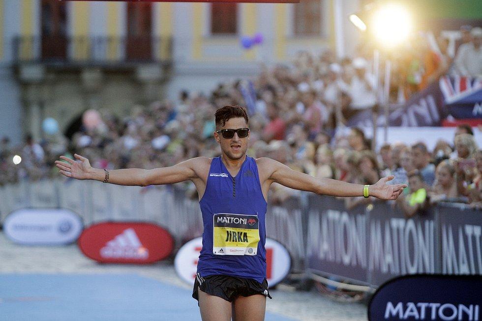 Olomoucký půlmaraton 2017 - nejrychlejší Čech Jiří Homoláč