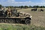 Rekonstrukce bitvy z 2. světové války ve Štěpánově, 25. září 2021