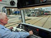 Jízda novou tramvají Vario LF plus Olomoucí