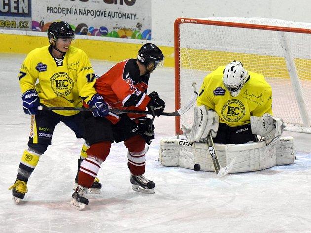 Po sérii nevydařených výsledků se podařilo hokejistům Chocně obrat o body na domácím ledě vedoucí Chrudim.