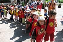 Pohádková cesta pro děti v podhradí a na hradě Litice.