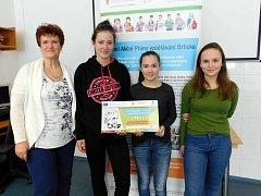 Za projekt vyhráli zájezd do Brna a další podporu.