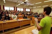 Regionální matematická soutěž ve Střední škole automobilní Ústí nad Orlicí.