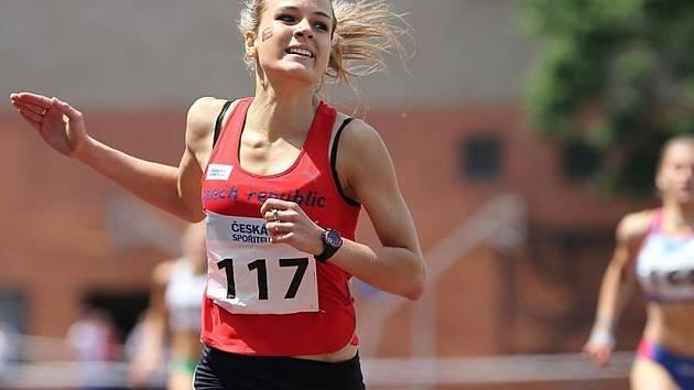 Vysokomýtská atletka Zdeňka Seidlová.