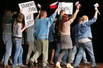 Den studentstva Gymnázia v Ústí nad Orlicí.