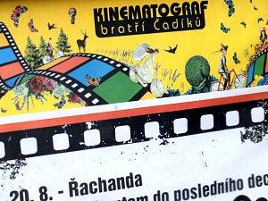 Kinematograf bratří Čadíků. Ilustrační foto.