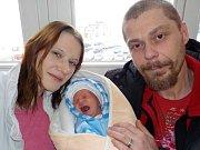 Nikolaj Cihelka se narodil Veronice a Václavovi z Vysokého Mýta dne 15. 12. v 0.33 hodin. Při narození vážil 2770 g.