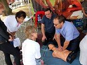 Světový den první pomoci ve Vysokém Mýtě.