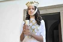 Svatou Kateřinu lze v rotundě sv. Kateřiny v České Třebové spatřit jen výjimečně.