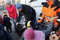 Na Ukrajinu zamířily dva kamiony. Vezou humanitární pomoc.