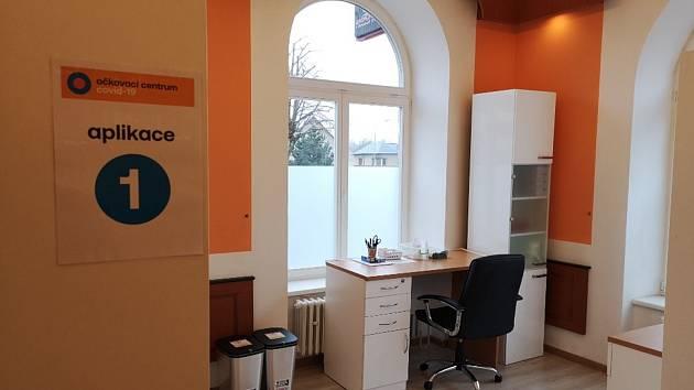 Očkovací centru v Brandýse nad Orlicí je připraveno