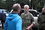Centrum biologické ochrany v Těchoníně navštívil náčelník Generálního štábu Armády ČR Petr Pavel.
