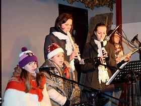 Rozsvícení vánočních stromů v Letohradu - Kunčicích