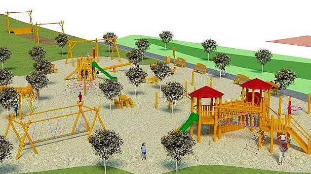 Nové dětské hřiště bude postaveno v Lanškrouně v rámci regenerace sídliště Dvorské Lány.