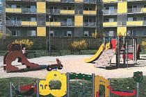 Vizualizace: nové herní prvky na dětských hřištích.