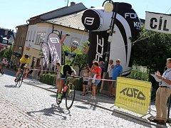 Královskou etapu vyhrál Petr Klabouch ze stáje Velo-Club Cirkl České Budějovice a narušil německou dominanci.