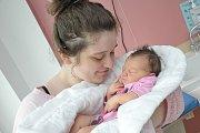 Klaudie Weiglová je první dítětem Diany a Karla z Kunvaldu. Narodila se 20. 8. v 8.14 hodin a vážila 3,456 kg.