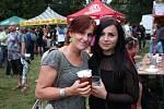 Choceňské pivní slavnosti v parku Peliny se uplynulou sobotu těšily velkému zájmu veřejnosti.