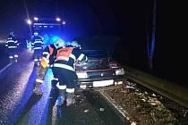 Nehoda v Jablonném nad Orlicí.