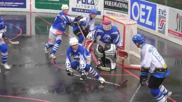 David Večerník vstřelil ve druhém  zápase  hattrick.