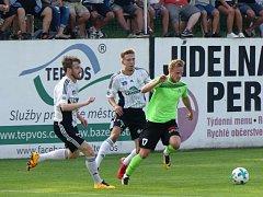 Odehráli dobré utkání, ale k naprosté spokojenosti chyběl Ústí gól. Šance na to mužstvo mělo.