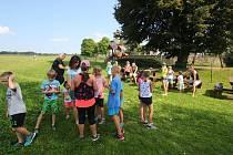 Pátý ročník loučení s prázdninami, spojeného se sportovním odpolednem pro děti a nohejbalovým turnajem pro dospělé, uspořádali v poslední srpnovou sobotu v Knapovci.