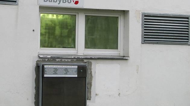 Nový babybox v Orlickoústecké nemocnici.