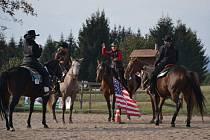 Stáj Tapawingo pořádala westernové závody v Libchavách.