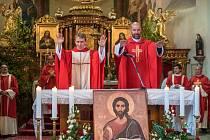 Primiční mše svatá v Dolní Dobrouči.