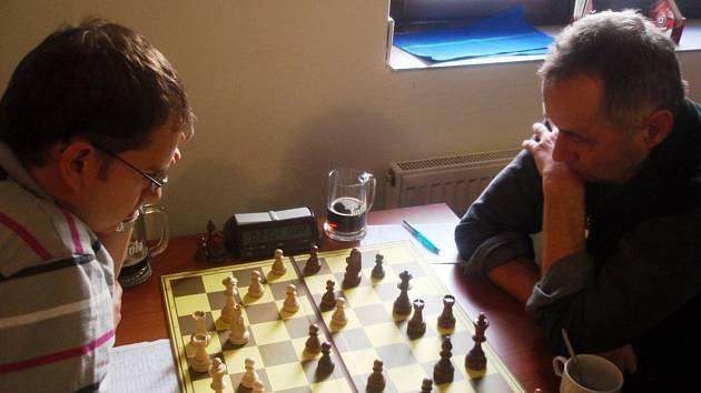 Z šachového klání Ústí n. O. B - Polička C.