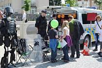 Územní odbor Policie ČR pořádal den otevřených dveří.