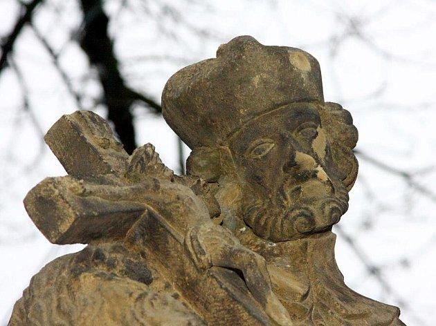Sv. Jan Nepomucký v Ústí nad Orlicí.
