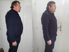 Pan Ladislav zhubnul 11 kg a chystá se na dalších 7 kg.