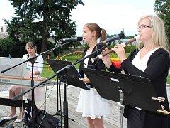 Andělské trio při Kulturním létu v Lanškrouně.