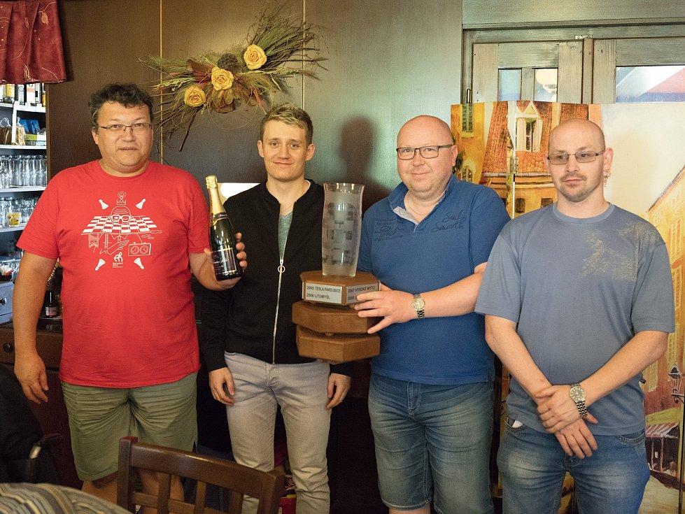 Zleva: FM M. Sabol, M. Kosek, L. Ptáček a T. Trhal.
