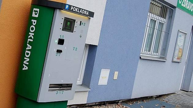 Parkovací systém v pardubické nemocnici