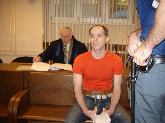 Martin Smékal u soudu.